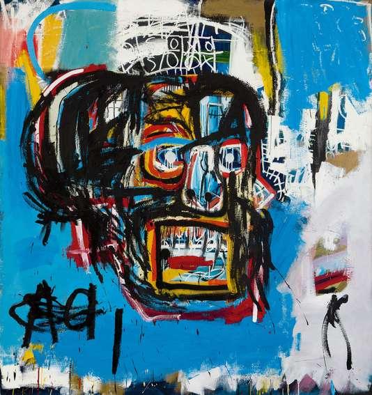 Jean-Michel Basquiat, sans titre, 1982.COLLECTION YUSAKU MAEZAWA, CHIBA, JAPON / PHOTOGRAPH COURTESY OF SOTHEBY'S INC. 2018