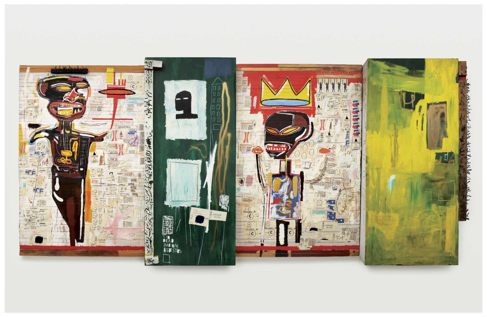 © Estate of Jean-Michel Basquiat Licensed by Artestar, New York © Fondation Louis Vuitton / Marc Domage