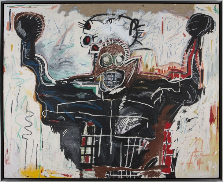 Jean-Michel Basquiat, Untitled( Boxer), 1982 / © Estate of Jean-Michel Basquiat. Licensed by Artestar, New-York