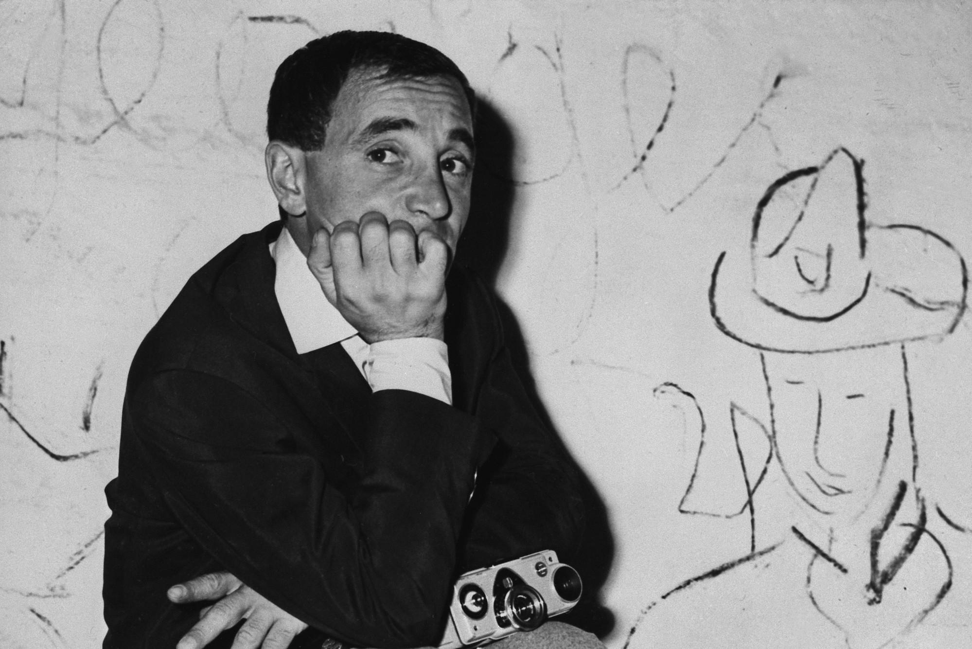 Charles Aznavour en 1960.