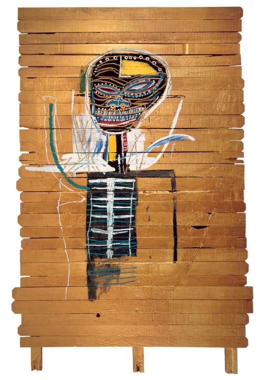 «Gold Griot» (1984), de Jean-Michel Basquiat.ESTATE OF JEAN-MICHEL BASQUIAT / LICENSED BY ARTESTAR, NEW YORK / ZINDMAN / FREMONT