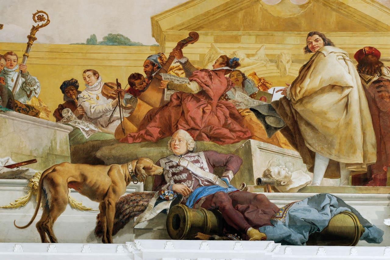 L'architecte Balthasar Neumann peint par Tiepolo.