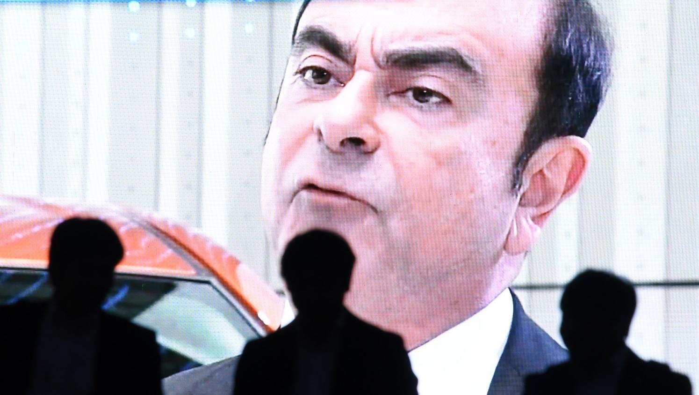 Carlos Ghosn, le PDG déchu de Renault-Nissan.
