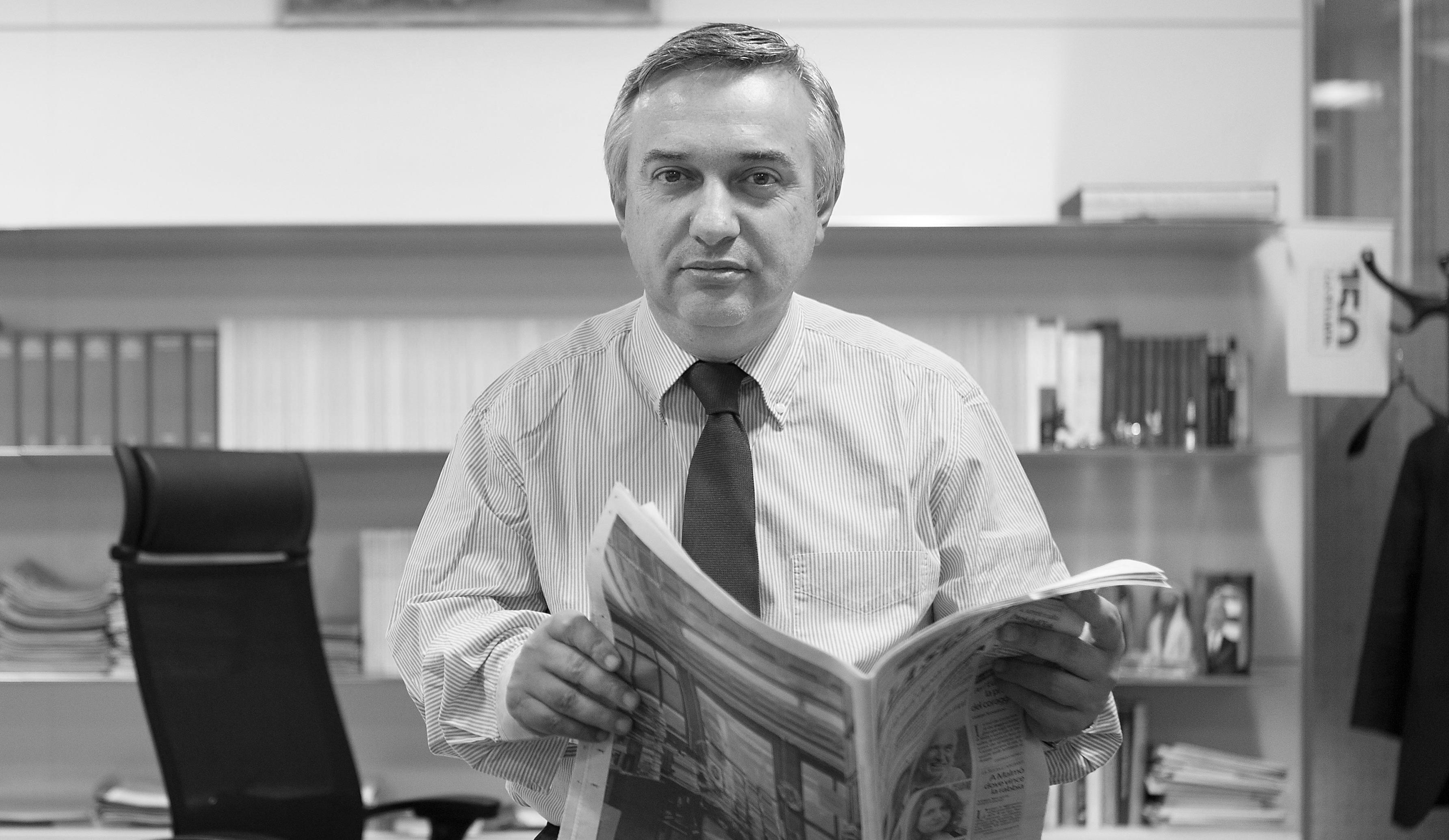 Maurizio Molinari, directeur de la rédaction de La Stampa.