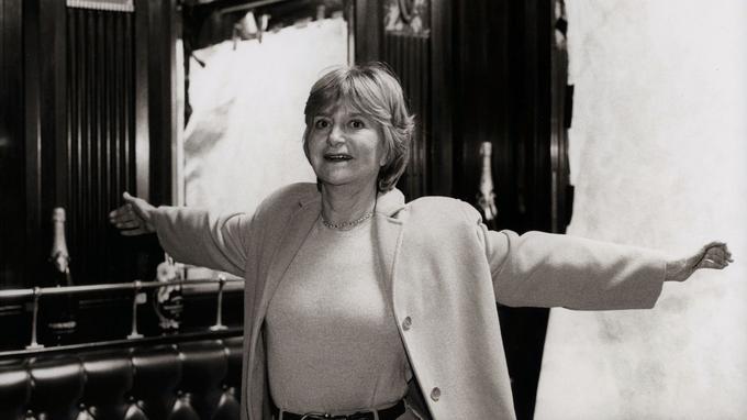 Florence Malraux en 1998.
