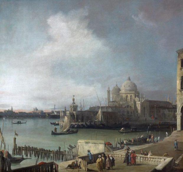 Canaletto, Vue de Venise, vers 1726-1728, Musée de Grenoble.