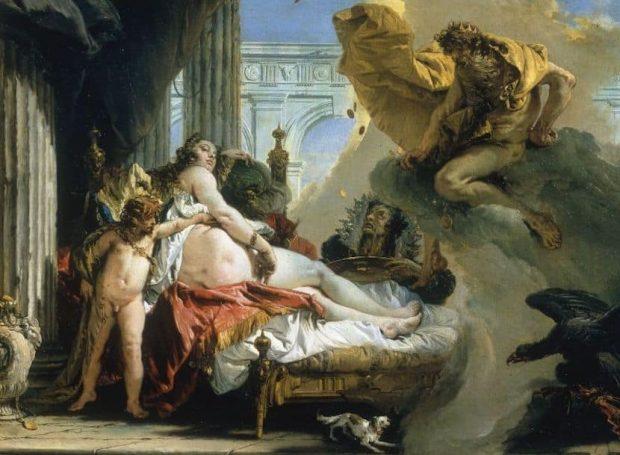 Giambattista Tiepolo, Jupiter et Danaé, 1736, Stockholm, Nationalmuseum.
