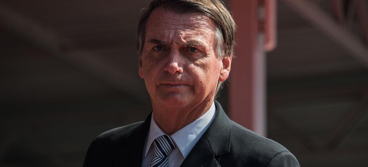 Le président brésilien d'extrême-droite Jair Bolsonaro.