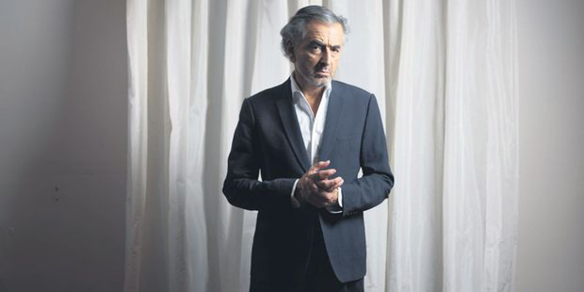 Bernard-Henri Lévy. Photo : Eric Dessons/JDD.