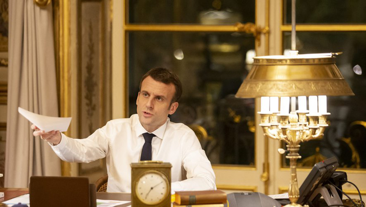 Emmanuel Macron. Le 11 Janvier 2019. Photo AFP.