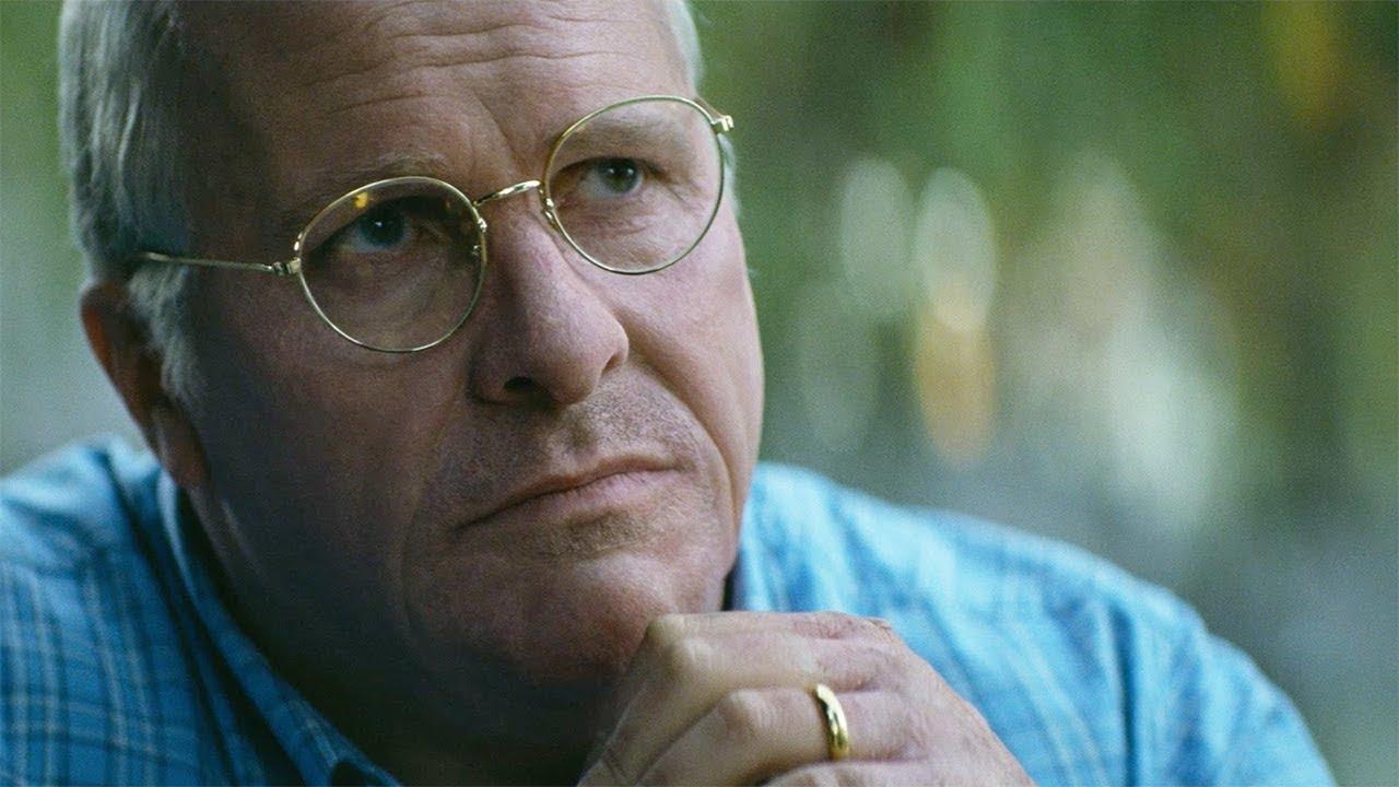 """Christian Bale méconnaissable en Dick Cheney dans le film """"Vice""""."""