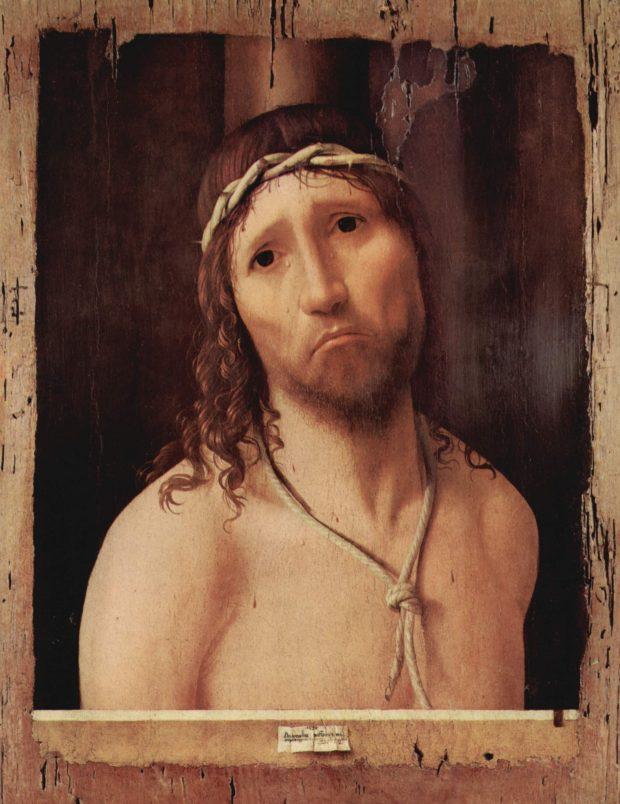 Antonello de Messine, Ecce Homo, vers 1475, Piacenza, Collège Alberoni.