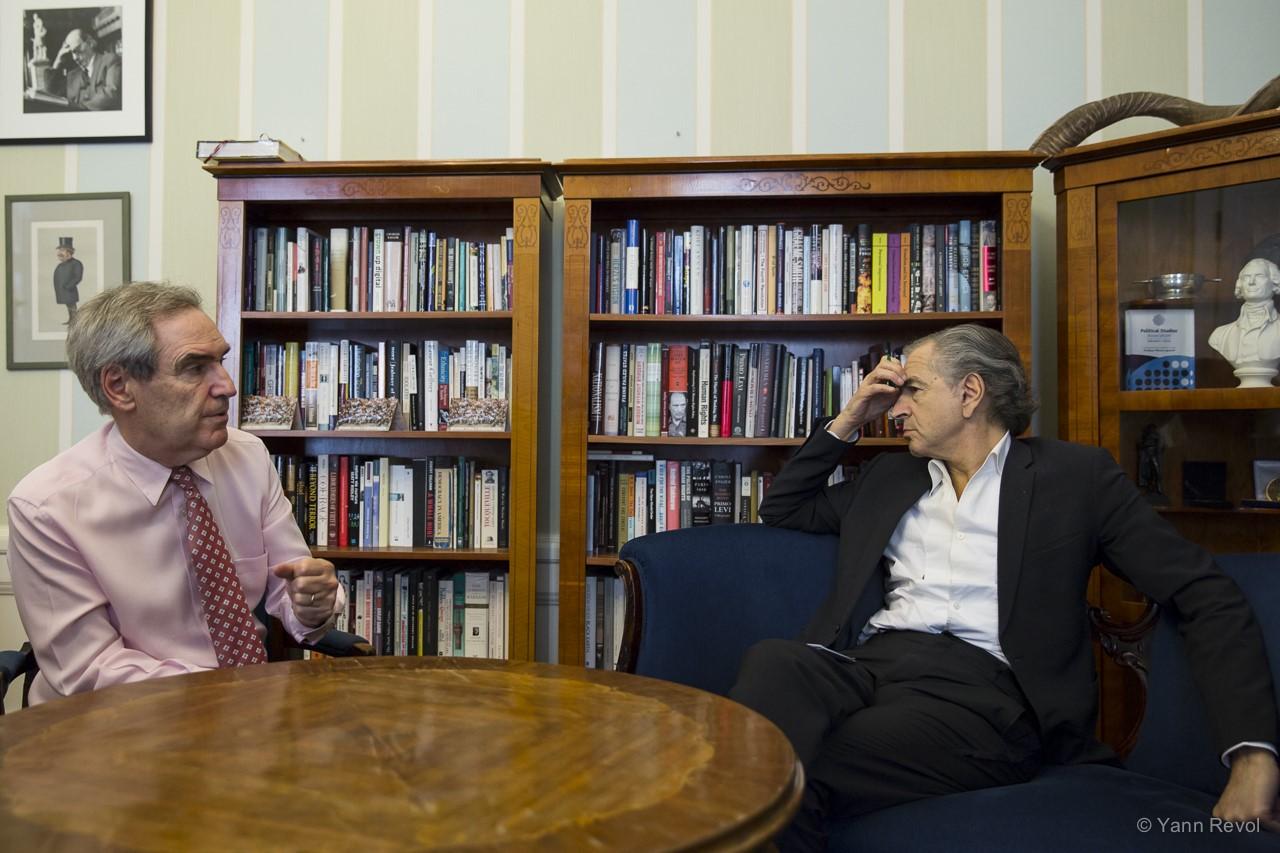 Rencontre avec le recteur de la prestigieuse université CEU (Central European University), qui va être «fermée» par Viktor Orban, et devra être excentrée à Vienne. La ville autrichienne ayant accepté de l'accueillir.