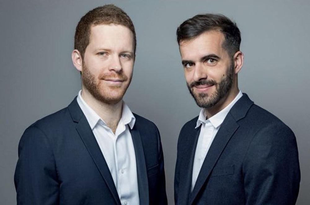 Ismael Emelien et David Amiel. Photo : Philippe MATSAS/Leextra/Éditions Fayard