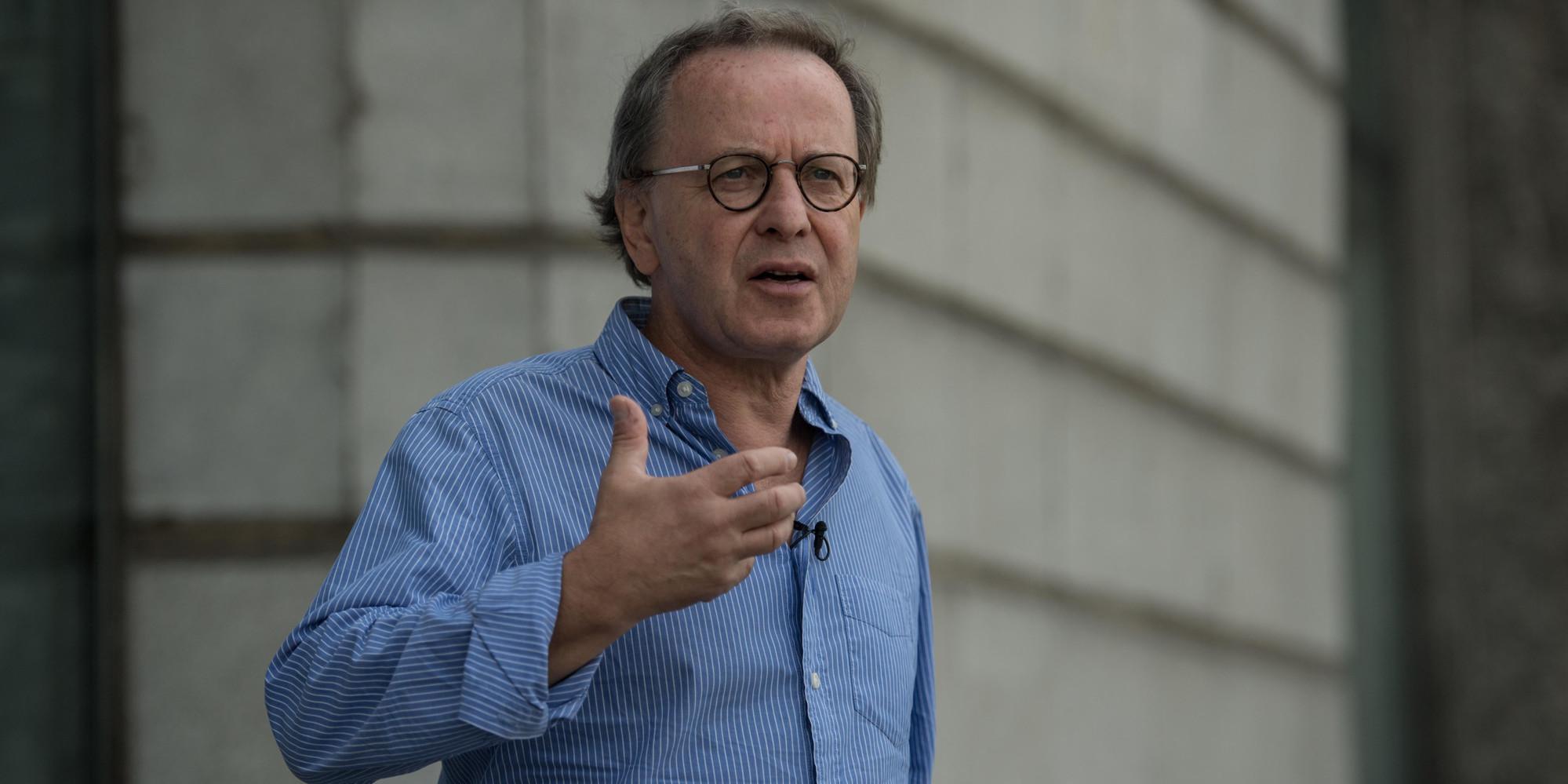"""Francois Margolin, Le directeur du documentaire """"Salafistes""""."""