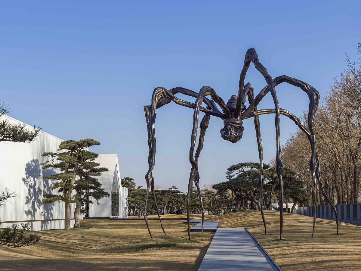L'araignée de Louise Bourgois.