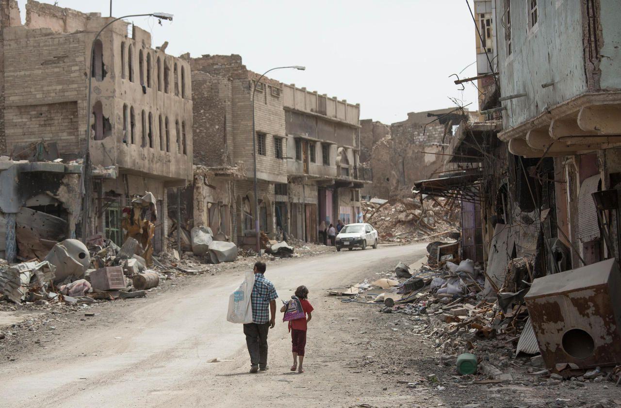 Mossoul, un an après la libération de Daech. Avril 2018.