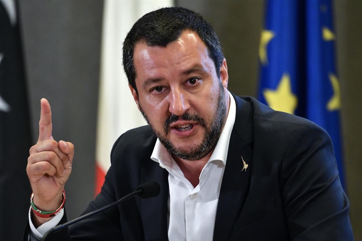 L'ancien ministre de l'intérieur Matteo Salvini.