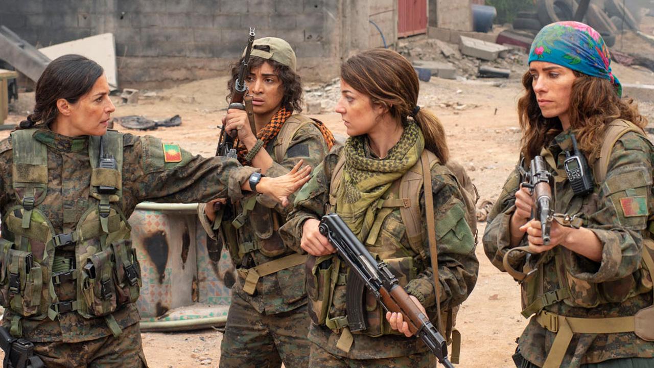 """Scène de """"Soeurs d'armes"""", le film de Caroline Fourest."""