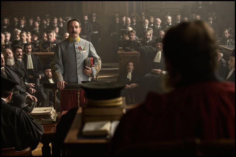 "Scène du film ""J'accuse"" de Roman Polanski."