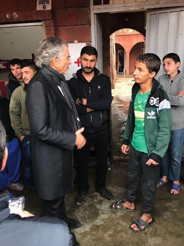 Au Rojava, au Houri Center, le centre de réhabilitation de Qamishli pour les orphelins de Daech. Une photo de Gilles Hertzog.