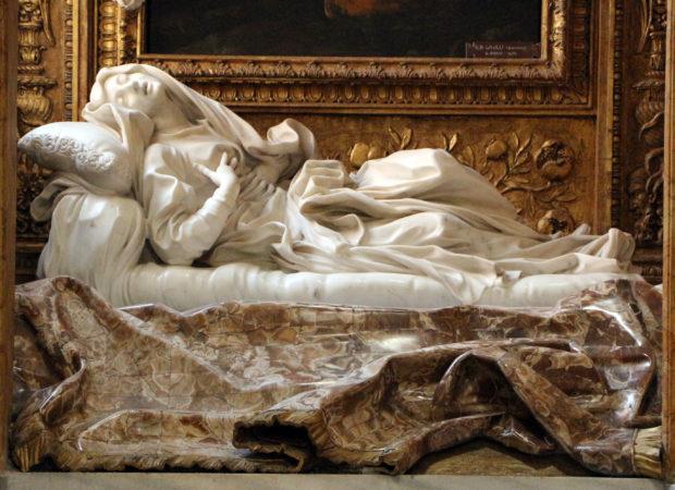Le Bernin, La bienheureuse Ludovica Albertoni, 1671-1674, Rome, église San Francesco a Ripa.