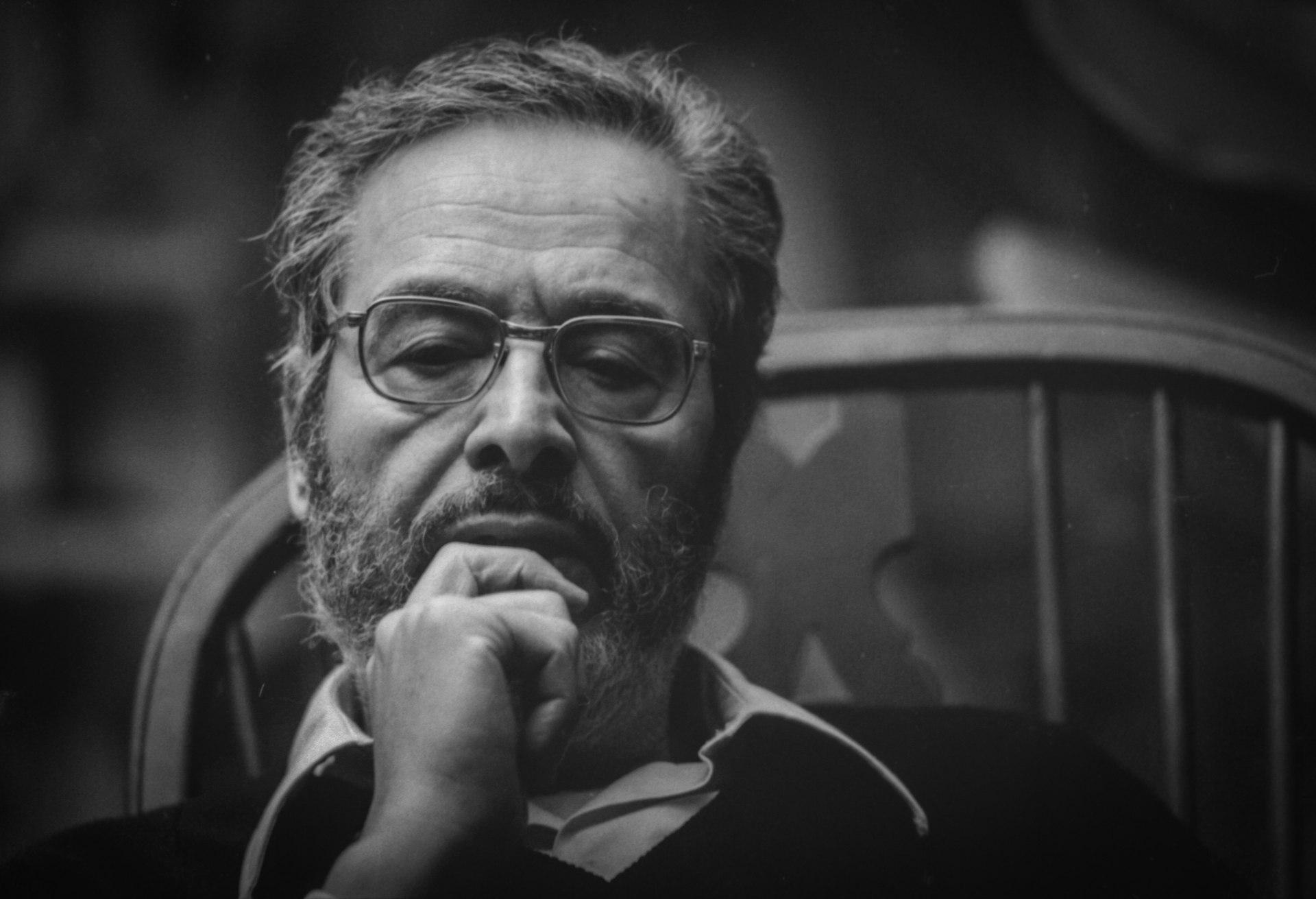 Portrait de l'écrivain tunisien Albert Memmi.