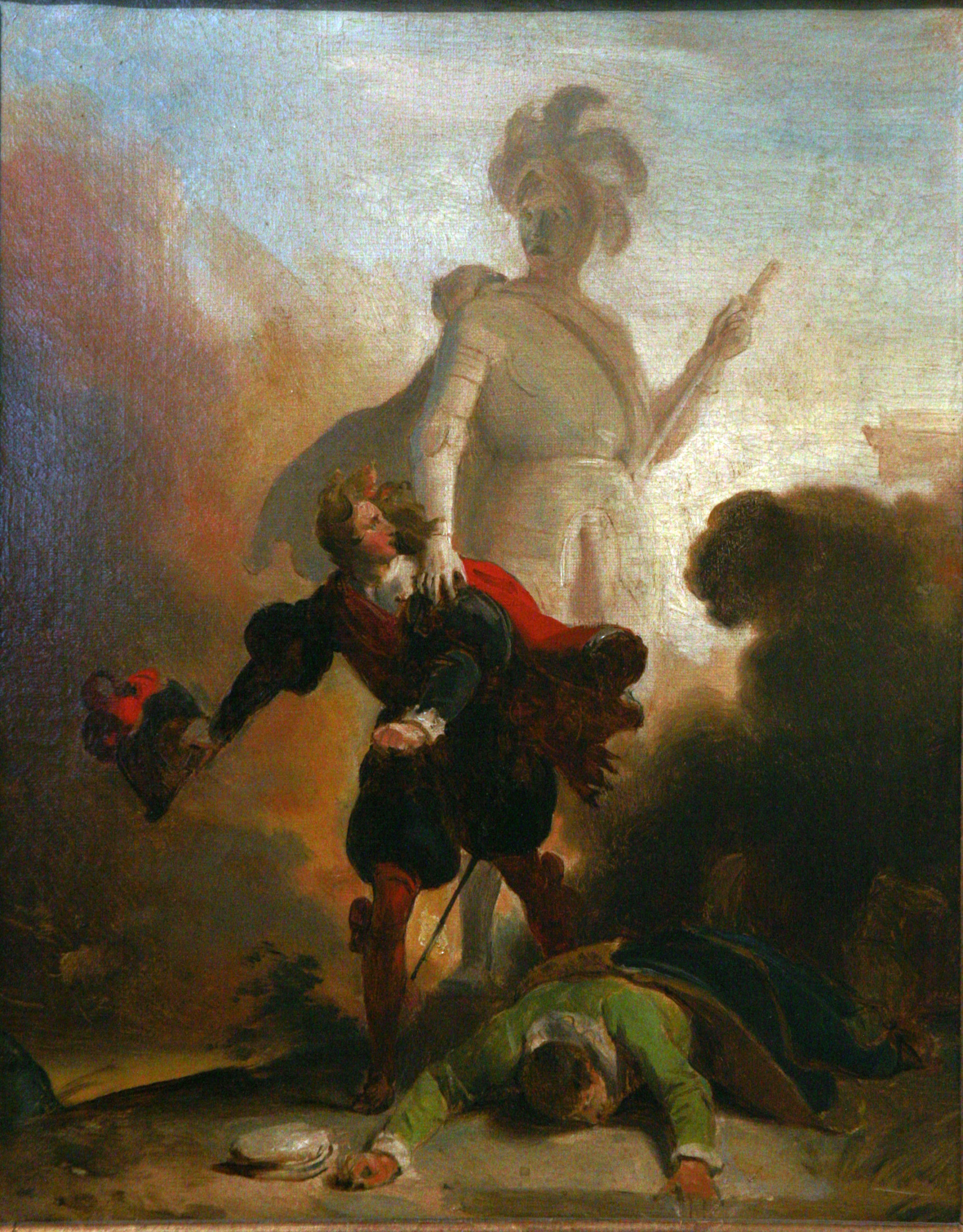 Le tableau de Fragonard illustrant le mythe de Don Juan.
