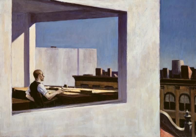 Tableau du peintre américain Edward Hopper.