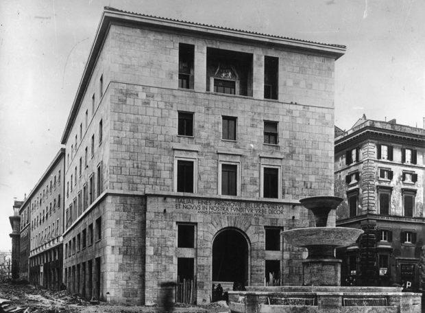 Photo du Palais de l'INA (Rome).