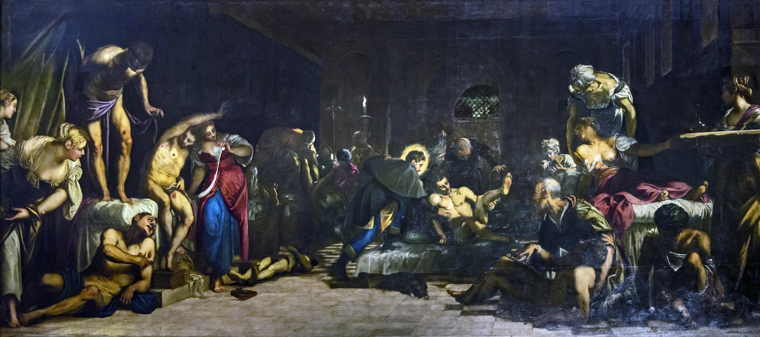Le Tintoret, Saint Roch guérissant les pestiférés, 1549, Venise, église San Rocco.