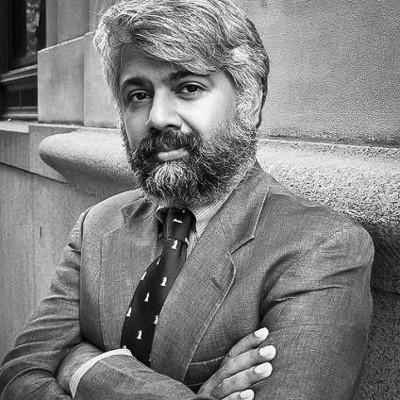 Portrait du journaliste Tunku Varadarajan