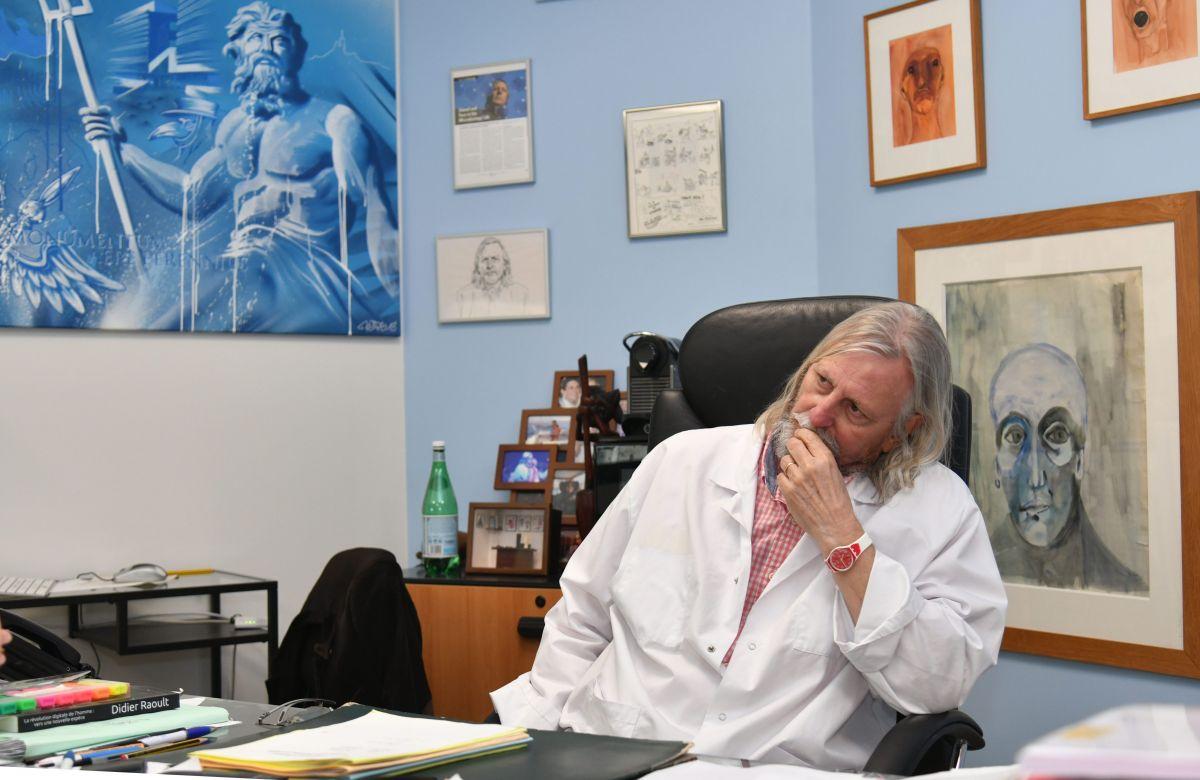 Le docteur Didier Raoult.