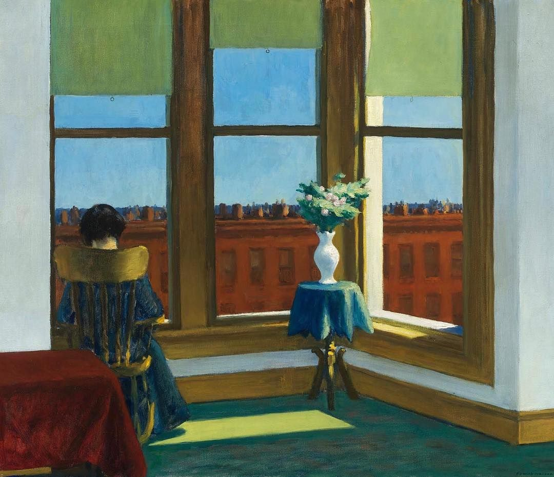 Chambre à Brooklyn d'Edward Hopper.