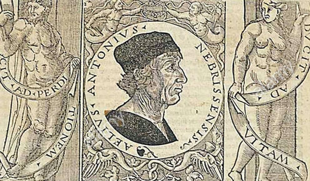portrait du grammairien Antonio Nebrija.