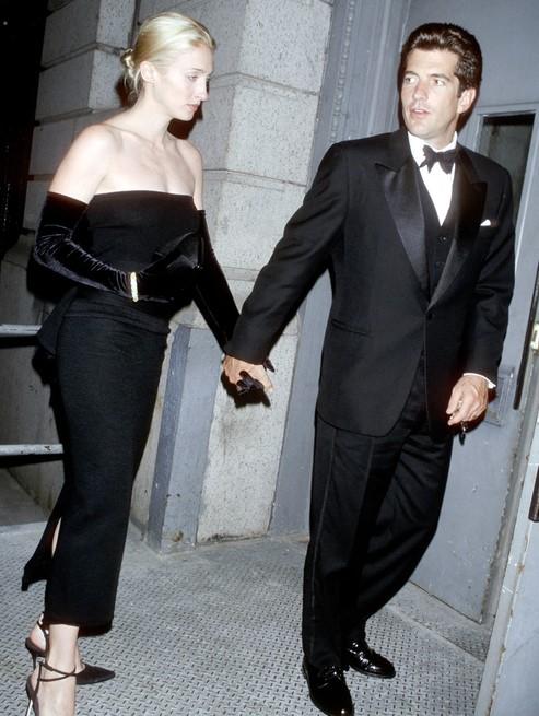 John John Jr Kennedy et son épouse Carolyn Bessette.