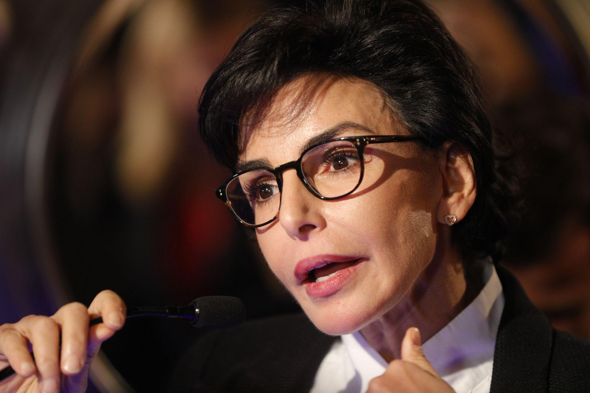 Rachida Dati, la Maire du VIIe arrondissement de Paris et candidate LR à la Maisie de Paris.