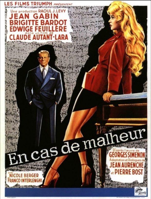 """L'affiche du film """"En cas de malheur""""."""
