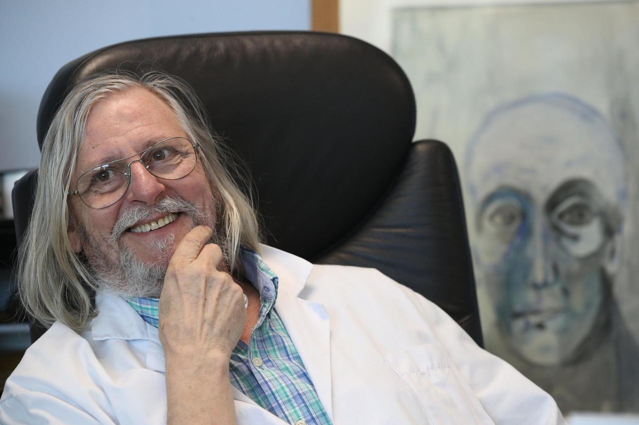 Portrait du médecin, virologue, Didier Raoult.