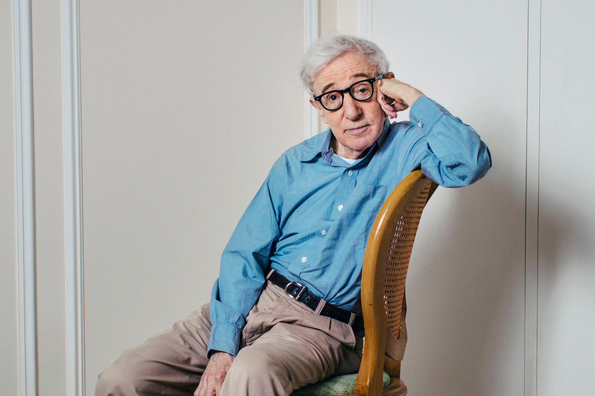 Portrait du cinéaste Woody Allen