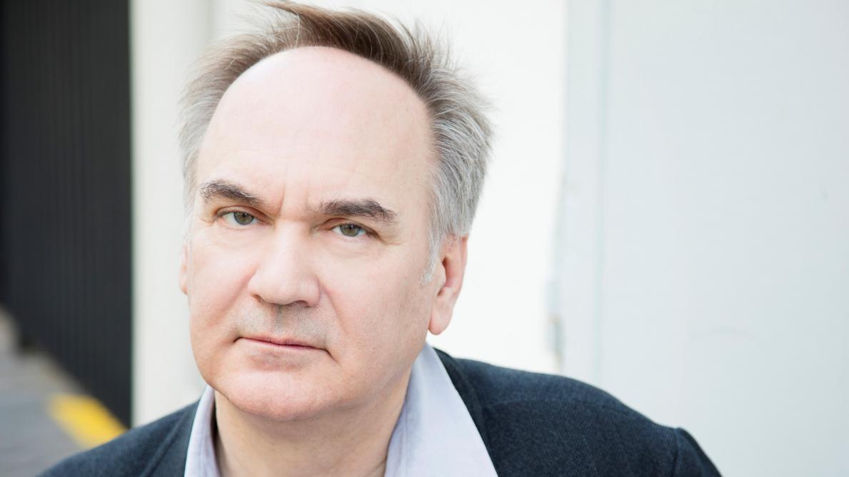 L'écrivain Hervé Le Tellier