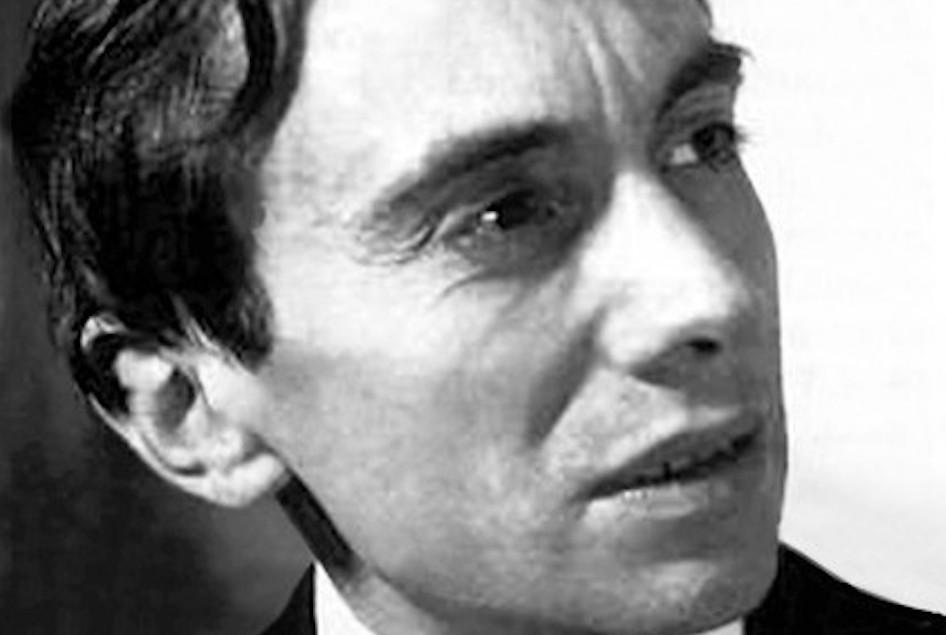 Portrait de l'écrivain Piotr Rawicz.
