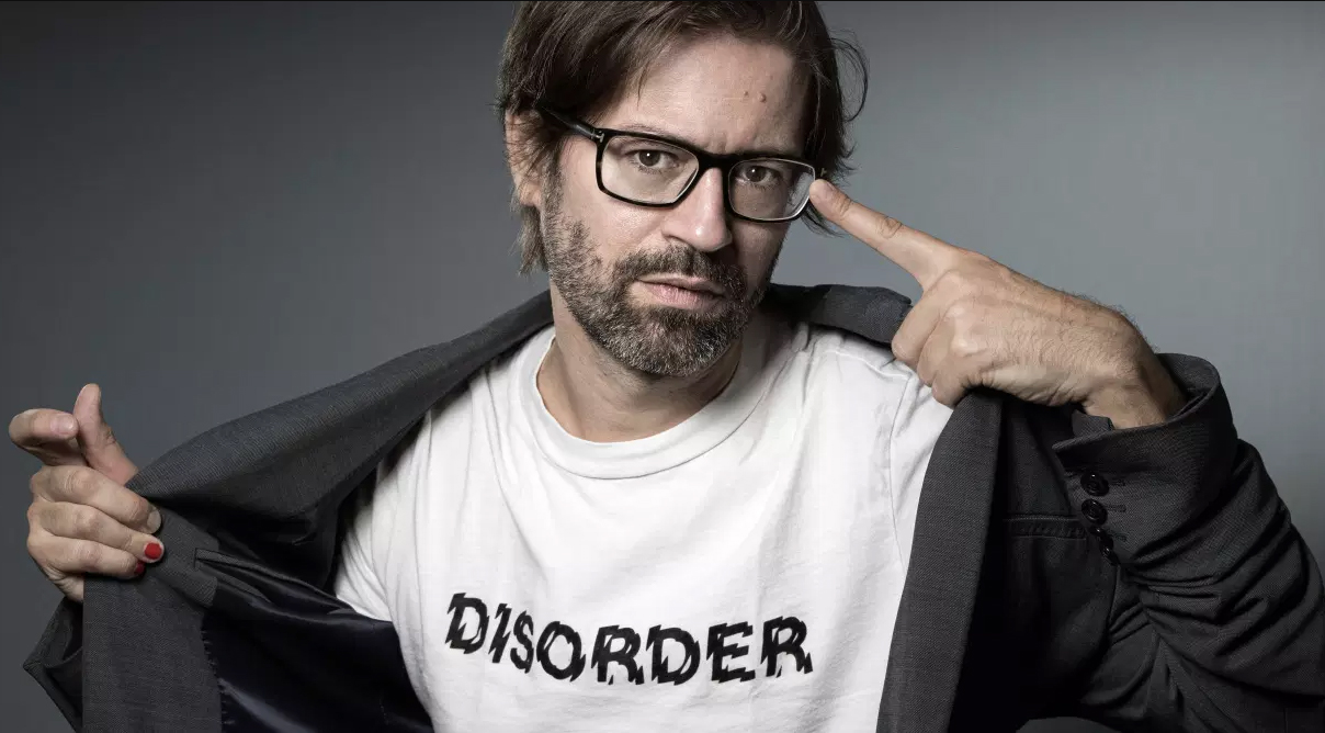 Portrait de l'écrivain Alexandre Labruffe