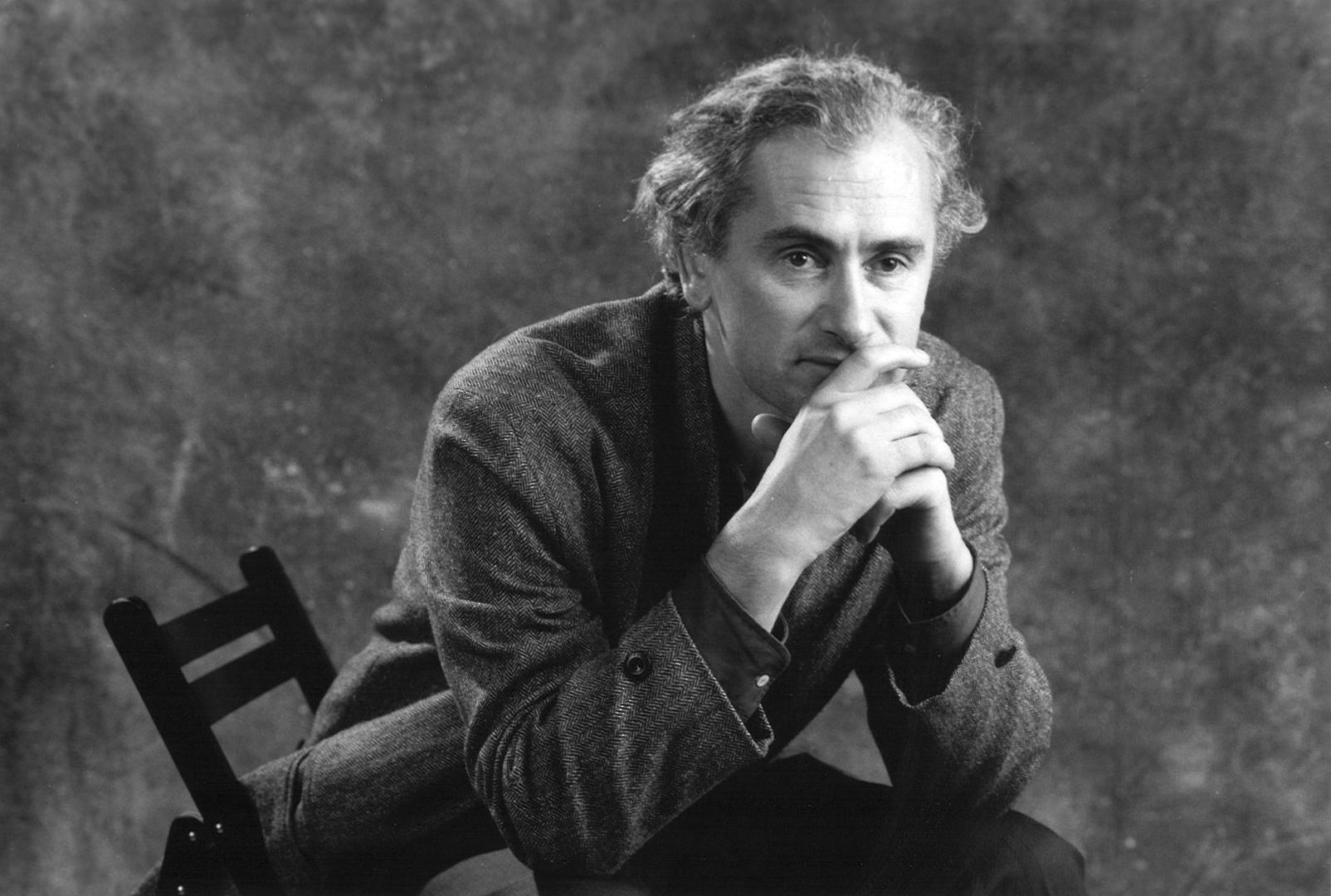 Portrait d'Olivier Corpet. Il a été le fondateur de l'IMEC.