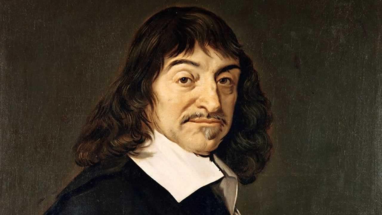 Portrait du philosophe René Descartes par le peintre Frans Hals.