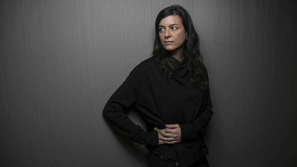 Portrait de l'écrivaine L'écrivaine argentine Samanta Schweblin.