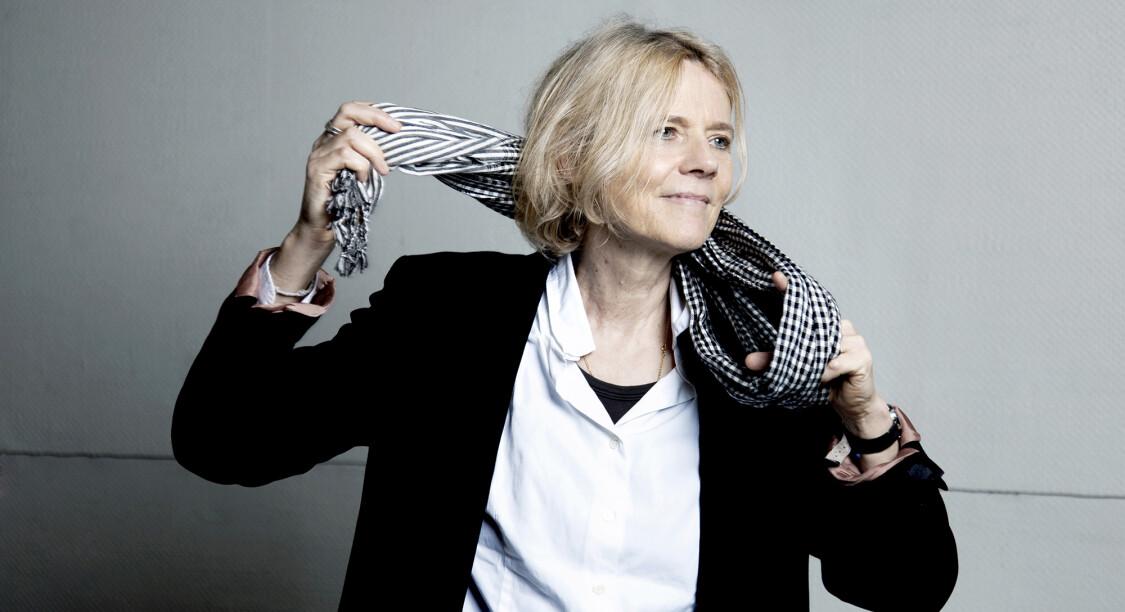 Portrait de la grande reporter Florence Aubenas.