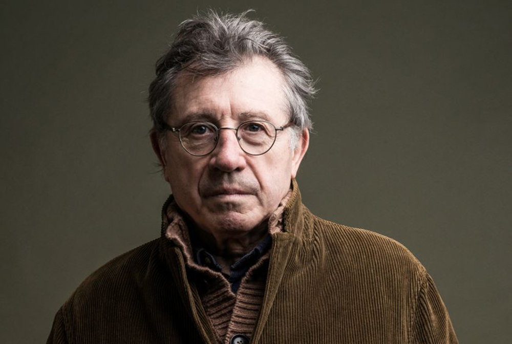 Portrait de l'écrivain Denis Grozdanovitch.
