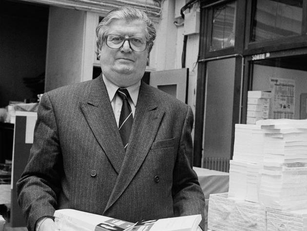 Portrait du grand éditeur Jean-Claude Fasquelle.