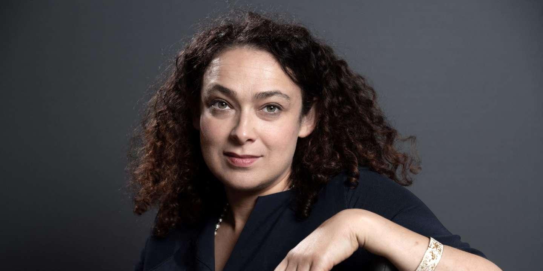 La rabbine Delphine Horvilleur, en 2019. BERTRAND GUAY / AFP